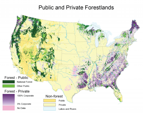 Public and Private Forestlands