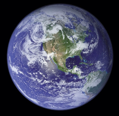 """The """"Blue Marble"""""""