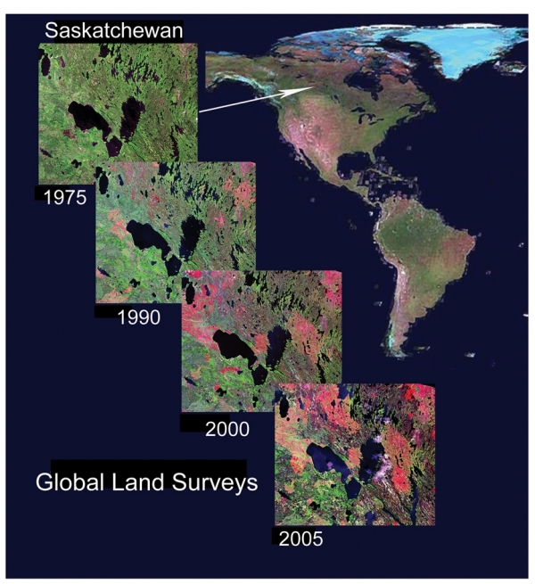 Global Land Survey Examples
