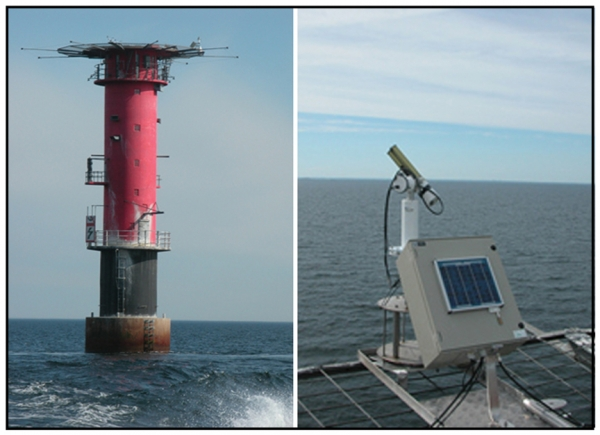 Surface Calibration of Satellite Ocean Color Observations