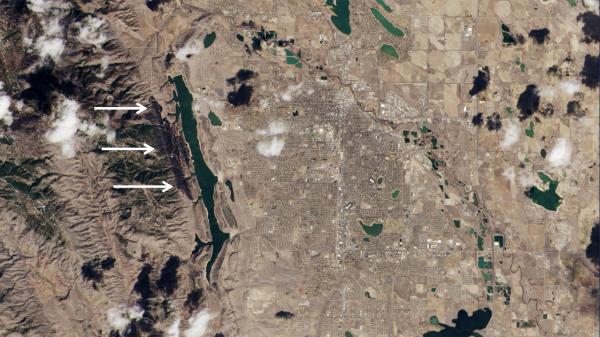 Burn Scar Outside Fort Collins, CO