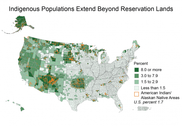 Indigenous Populations Extend beyond Reservation Lands