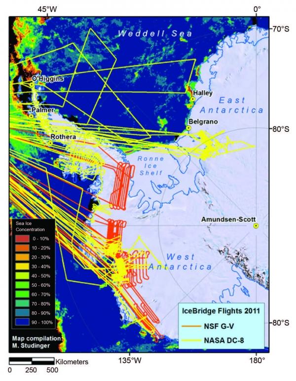 NASA's Antarctic IceBridge Mission