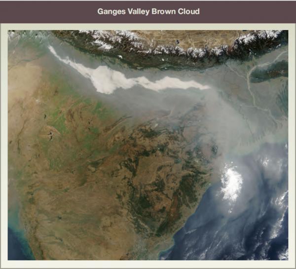 Ganges Valley Brown Cloud