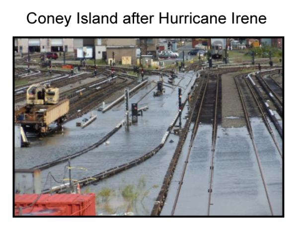 Coney Island after Hurricane Irene