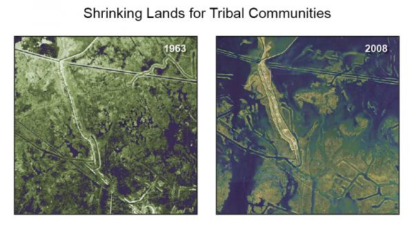 Shrinking Lands for Tribal Communities
