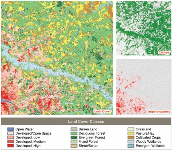 National Land Cover Database - Example