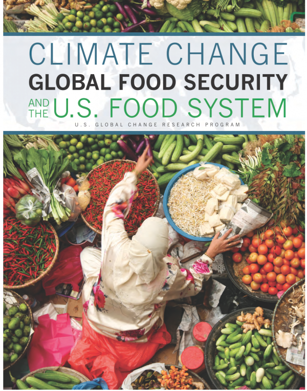 Climate Change Global Food Security and the U S  Food System