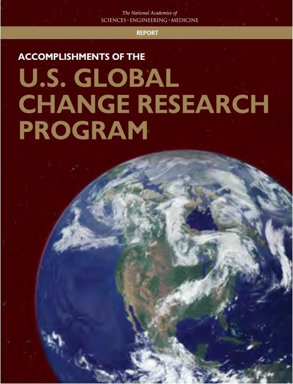 Accomplishments of the U.S. Global Change Research Program