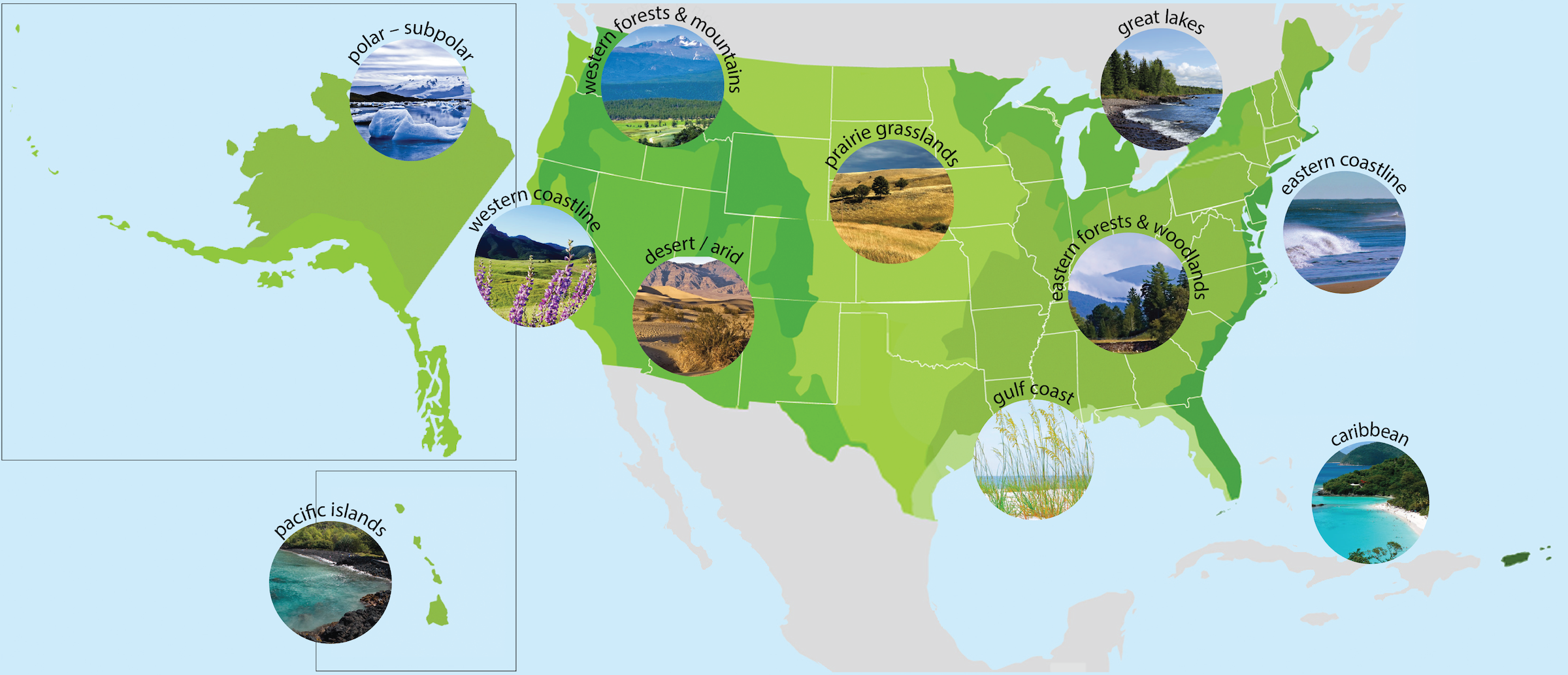 Wildlife and Wildlands Toolkit: Map of U.S. Eco-Regions